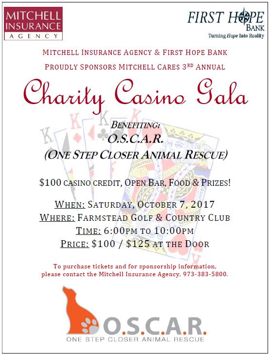 Charity Casino Flyer 2017